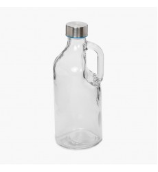 Aggarwal Crockery & Scientific Stores Glass Bottle with Handle 1 Litre.