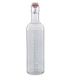 Luigi Bormioli Pictura Hydro Sommelier Bottle, 34-Ounce, Grey