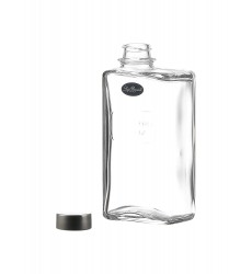 Luigi Bormioli Optima Rectangular Glass Can with Screw Cap 500 ml