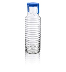 BORGONOVO Argo 1LTR Glass Bottle Closed lid