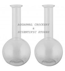 Aggarwal Crockery & Scientific Stores Flat Bottom Flask (1000 ml) Pack of 2