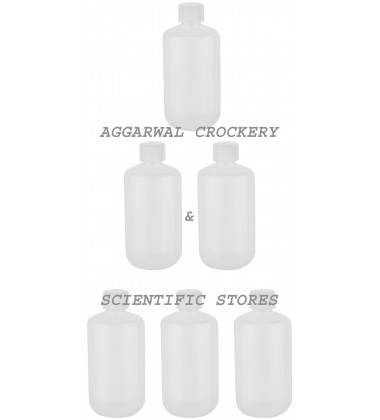Aggarwal Crockery & Scientific Stores Reagent Narrow Mouth Bottle(250 ml)