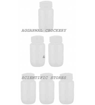 Aggarwal Crockery & Scientific Stores Reagent Wide Mouth Bottle(125 ml)