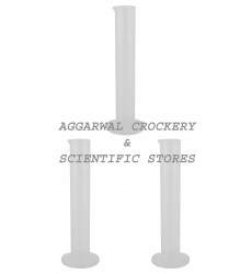 Aggarwal Crockery & Scientific Stores Measuring Cylinder Plastic (100 ml)
