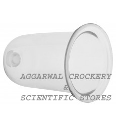 Aggarwal Crockery & Scientific Stores Bell Jar Small (20 cm, Clear)