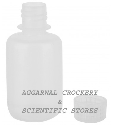 Aggarwal Crockery & Scientific Stores Reagent Narrow Mouth Bottle(125 ml)