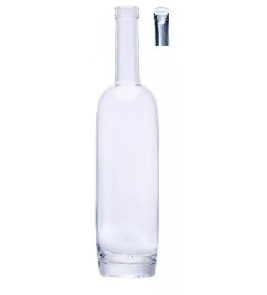 Durobor Set Glass Bottles with Glass Stopper Water Bottles/Wine Bottles