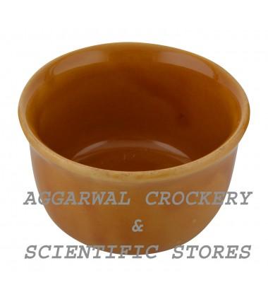 Aggarwal Crockery & Scientific Stores Ceramic Deep Bowl, 4 Inch, Set of 2 Pieces