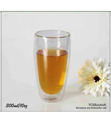 Double Wall Glass 300ml (Pack of 2 pcs)