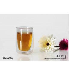 Double Wall Glass 265ml (Pack of 2 pcs)