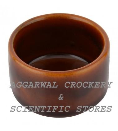 Aggarwal Crockery & Scientific Stores Ceramic Bowl, 2 Inch, Set of 2 Pieces