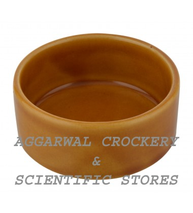Aggarwal Crockery & Scientific Stores Ceramic Bowl, 3.25 Inch, Set of 2 Pieces