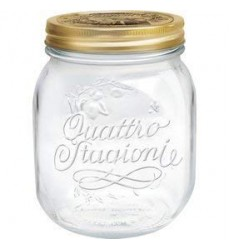 Bormioli Rocco Quattro Stagioni 700ml Glass Jar - Set of 3
