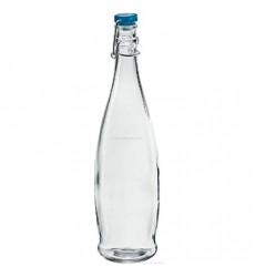 Borgonovo Bottle Indro 1000 ml with Blue Lid, Set of 3