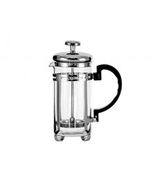 Aggarwal Crockery & Scientific Stores Glass Coffee Plunger Stainless Steel 350ml