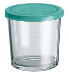 Borgonovo Igloo Jar in Blue Lid, 800ml, Set of 6