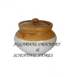 Aggarwal Crockery & Scientific Stores Pickle Jar Handi 250 gm