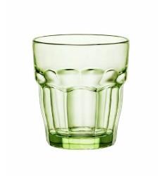 Bormioli Rocco Rock Bar Lounge Rocks Glasses, Mint, Set of 6