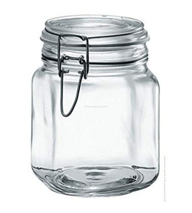 Borgonovo Food Jar Primizie Hermet 1000 ml, Set of 3