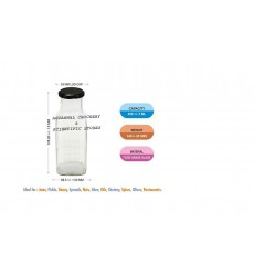 Aggarwal Crockery & Scientific Stores 490ml Square Milk Bottle Set of 4