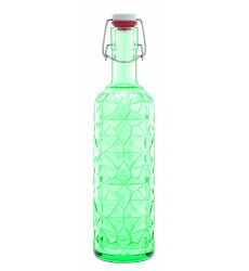 34 oz , Green : Luigi Bormioli Prezioso Bottle, 34 oz, Green
