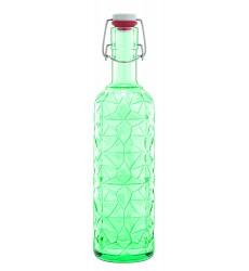 34 oz , Green : Luigi Bormioli Prezioso Bottle, 34 oz, Green