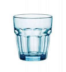 Bormioli Rocco Rock Bar Lounge Rocks Glasses, Ice, Set of 6, 27 cl 9 1/4 oz.