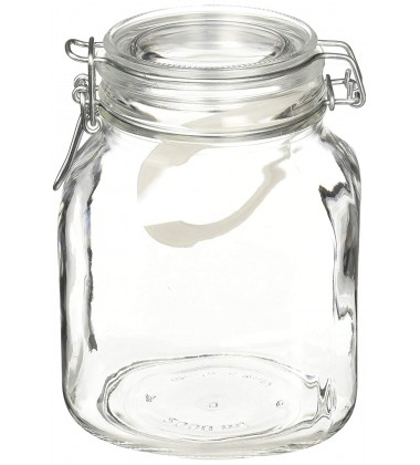 Borgonovo Food Jar Primizie Ermetico 2000, Set of 4