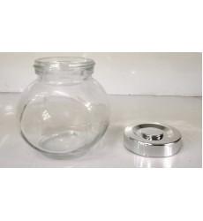 Aggarwal Crockery & Scientific Stores Glass jar 150ml Set of 4