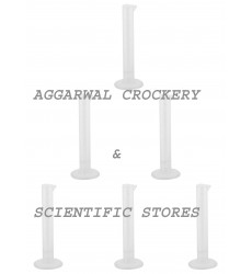 Aggarwal Crockery & Scientific Stores Measuring Cylinder Plastic (10 ml)