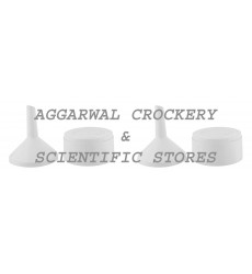 Aggarwal Crockery & Scientific Stores Buchner Funnel (White