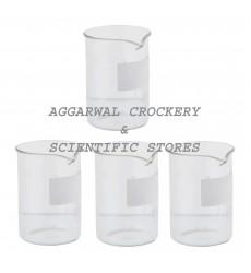 Aggarwal Crockery & Scientific Stores Beaker 50ml Borosilicate Glass