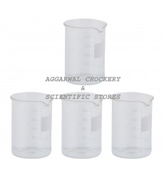 Aggarwal Crockery & Scientific Stores Beaker 100ml Borosilicate Glass
