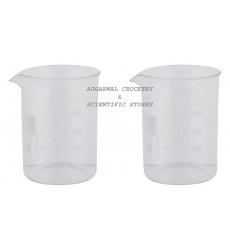 Aggarwal Crockery & Scientific Stores Beaker 250ml Borosilicate Glass
