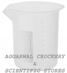 Aggarwal Crockery & Scientific Stores Plastic Beaker (100 ml)