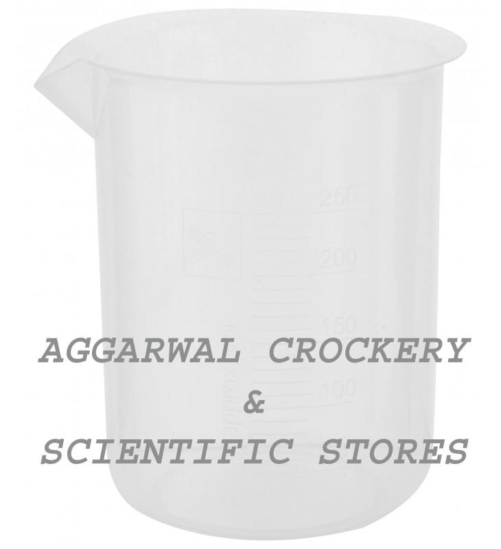 aggarwal crockery scientific stores beaker 250ml borosilicate glass