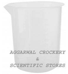 Aggarwal Crockery & Scientific Stores Plastic Beaker (2000 ml)