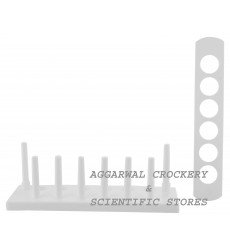 Aggarwal Crockery & Scientific Stores Test Tube Stand 25mm