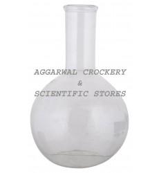 Aggarwal Crockery & Scientific Stores Flat Bottom Flask 1000ml Borosilicate Glass