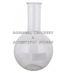 Aggarwal Crockery & Scientific Stores Flat Bottom Flask 500ml Borosilicate Glass