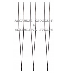 Aggarwal Crockery & Scientific Stores Pointed Forceps (Pack of 3)