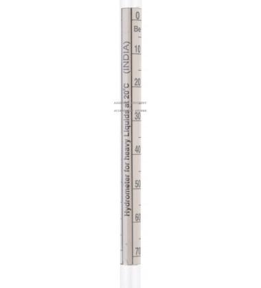 Aggarwal Crockery & Scientific Stores Hydrometer 1000-2000 (Heavy Liquid)