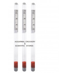 Aggarwal Crockery & Scientific Stores Hydrometer 700-1000 (Light liquid) Pack of 3