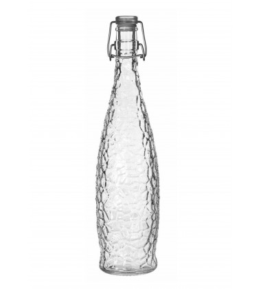 Borgonovo Bottle Indro 1000 with Transparent Lid
