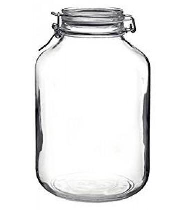 Bormioli Rocco Fido Glass Canning Jar Italian - 5 Liter