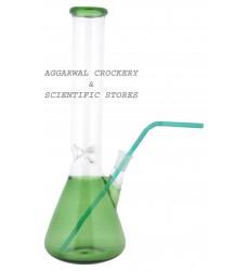 Aggarwal Crockery & Scientific Stores Junior Green Mason/Cocktail/Pitcher Jar 400ml