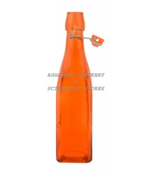 Aggarwal Crockery & Scientific Stores Glass Bottle Orange 500ml