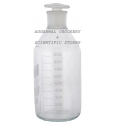 Aggarwal Crockery & Scientific Stores Reagent Bottle Narrow Mouth 1000ml Borosilicate Glass