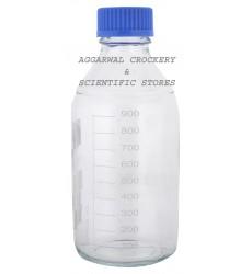 Aggarwal Crockery & Scientific Stores Reagent Bottle Screw Cap 1000ml Borosilicate Glass