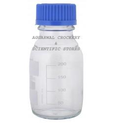 Aggarwal Crockery & Scientific Stores Reagent Bottle Screw Cap 250ml Borosilicate Glass
